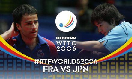 Championnats du Monde 2006 de tennis de table
