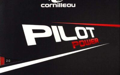 Test Matériel : Revêtement Cornilleau PILOT POWER