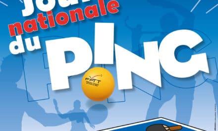 Affiche Journée Nationale du Ping !