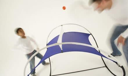 La table 2secondsTableTennis, première table de Ping Pong en tissus !
