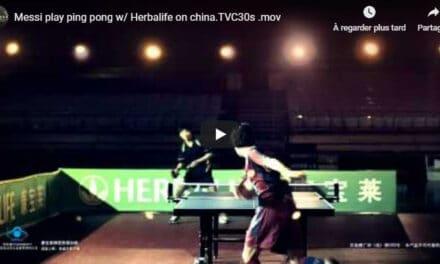 Messi, Champion de Ping Pong !