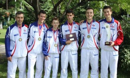 Les Juniors Français médaillés de Bronze