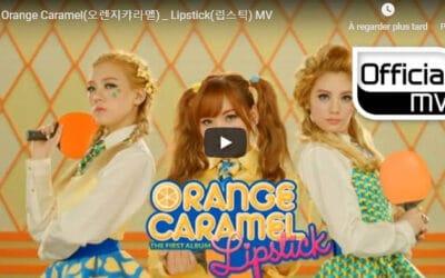 Musique Ping Pong – Orange Caramel