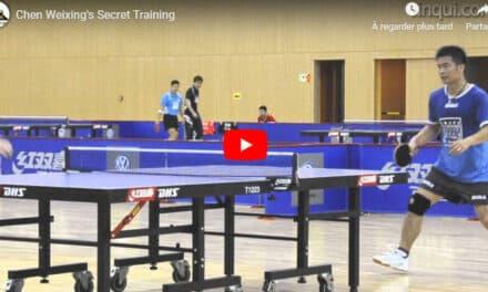 Vidéo Comique – Chen Weixing à l'entraînement