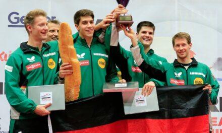 L'Allemagne, Championne d'Europe