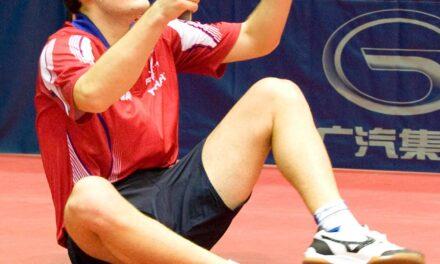 Simon Gauzy, vainqueur de l'Open de Pologne