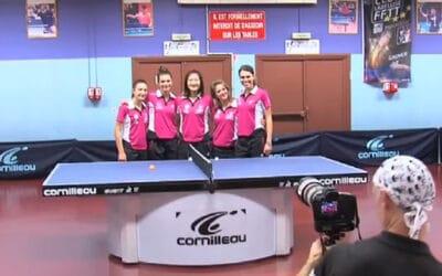Reportage Elancourt tennis de table