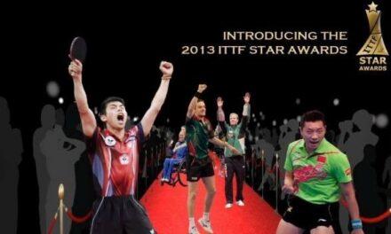 ITTF Star Awards – Dubaï – Elections des meilleurs joueurs de Ping Pong de 2013