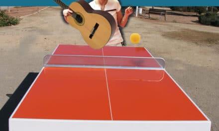 Avec toutes les balles que tu grattes, apprends la guitare!