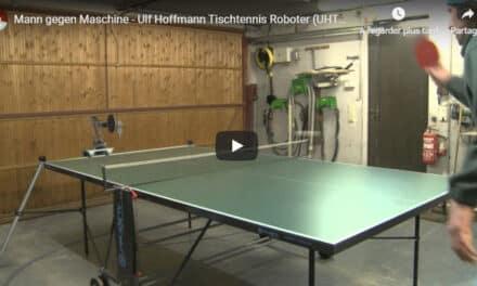Les robots arrivent au Ping Pong
