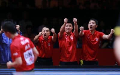 Vidéos de la finale des Championnats du Monde de Tennis de Table 2014