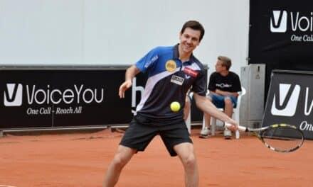 Timo Boll fait le show à Roland Garros