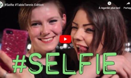 Tennis de table Selfie