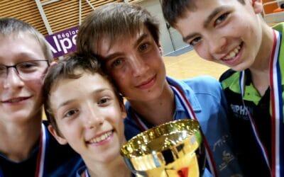 Résultats, photos et vidéos des Championnats de France de Tennis de Table Benjamins / Cadets