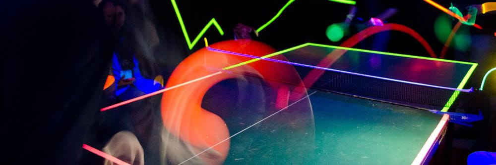 Ping By Night – jouer au Ping Pong la nuit