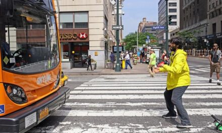 Jouer contre le trafic routier à New York