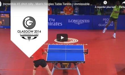 Résultats des jeux du Commenwealth en tennis de table