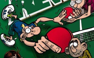 Vert et Revers – la BD sur le tennis de table