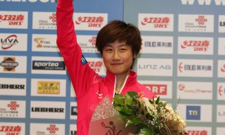 Ding Ning gagne la Coupe du Monde 2014