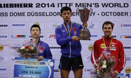 Zhang Jike gagne la Coupe du Monde Messieurs 2014 – vidéos et résultats