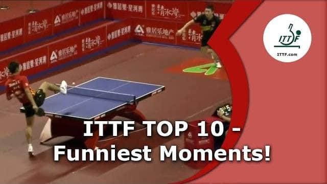 Vidéo Top 10 des points les plus FUN du Ping-Pong