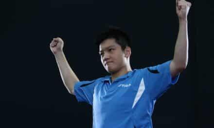 FAN Zhendong, 17 ans, Champion de Chine 2014