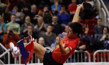 Les 45 000 $ de Zhang Jike iron pour la promotion du Fair Play !