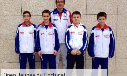Résultats jeunes de l'Open du Portugal 2014
