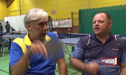Reportage sur Annecy tennis de table