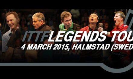 Vidéos Ittf Legends 2015