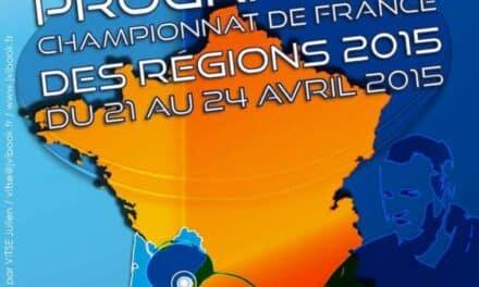 Les Championnats de France des Régions 2015