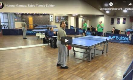 Un point de Ping Pong à mourir de rire – Ping Hunger Games