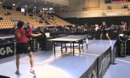 Johan Hagberg table tennis compilation