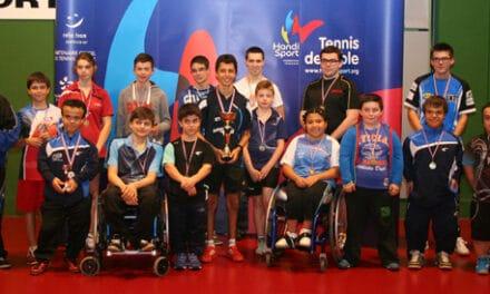 Résultats des Championnats de France Jeunes Handisport de tennis de table