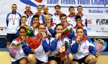Les Français remportent 13 médailles aux Championnats d'Europe Jeunes