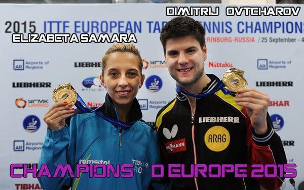 Championnats d'Europe 2015