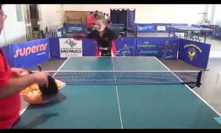 Vidéos Handisport tennis de table