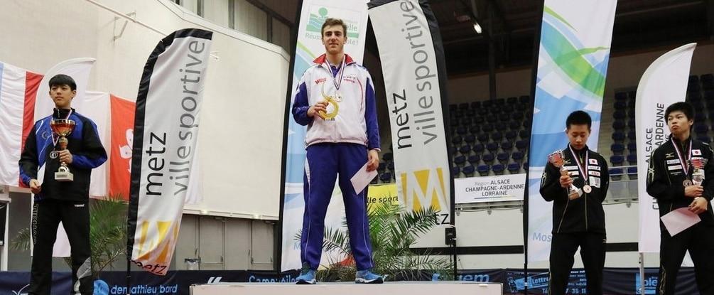 Résultats de l'Open de France Jeunes de Metz 2016