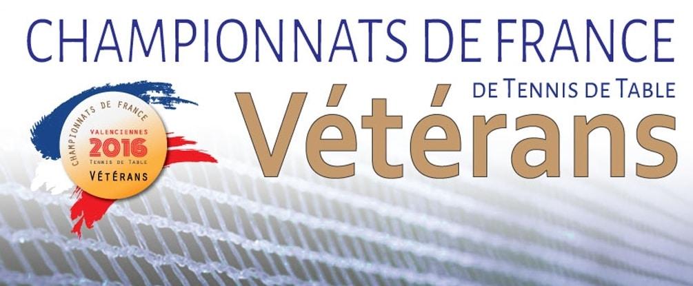 Résultats des Championnats de France Vétérans 2016