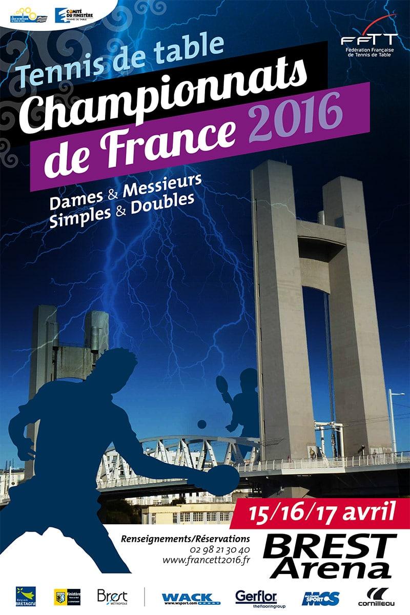 Championnats de France 2016 de tennis de table