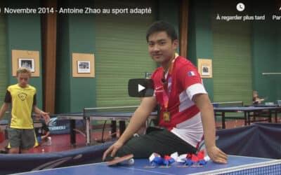 Reportage sur Antoine Zhao – Sport Adapté