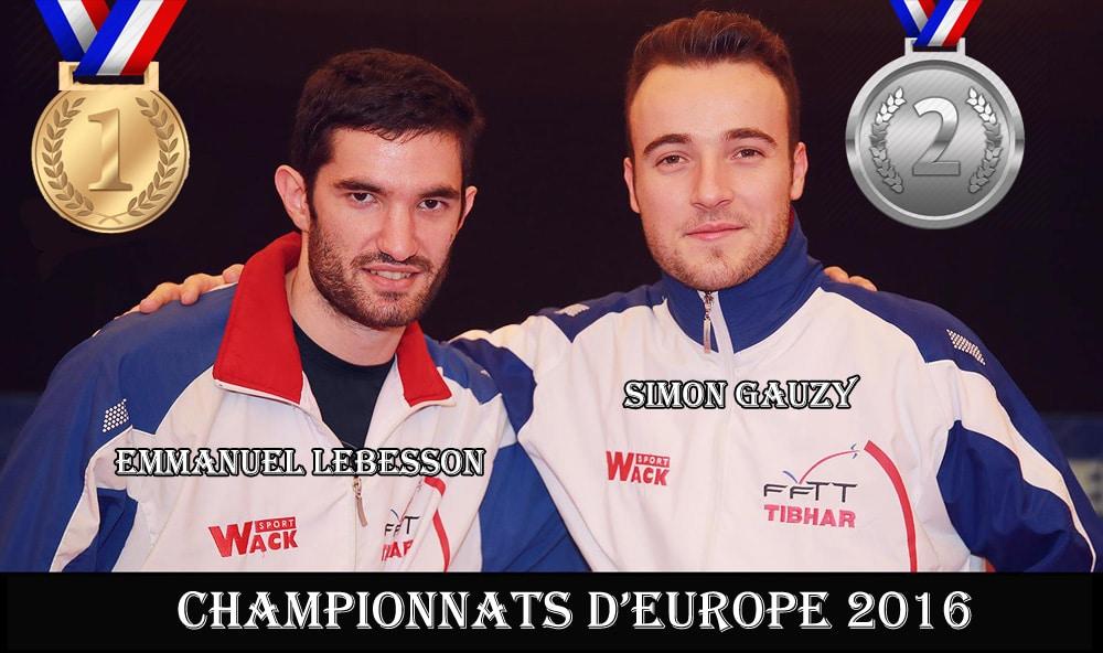 Emmanuel Lebesson remporte les Championnats d'Europe 2016