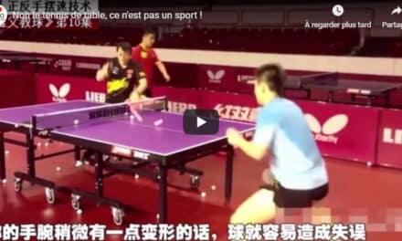 Non le tennis de table, ce n'est pas un sport !