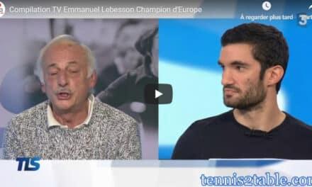 Compilation TV – Emmanuel Lebesson Champion d'Europe + les coulisses