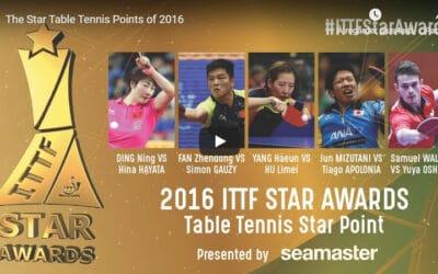 ITTF Stars Awards 2016