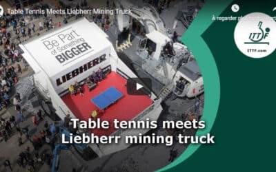 Jouer au Ping Pong dans un ENORME camion !