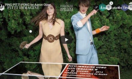 Ping Pong Tendance ou quand le Ping Pong s'invite dans le milieu de la mode