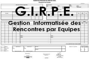 Mode d'emploi de GIRPE – Logiciel FFTT