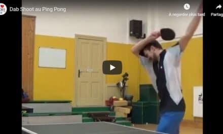 Le Dab Shoot au Ping Pong