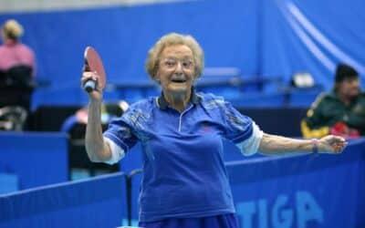 Record du joueur de Ping Pong le plus vieux